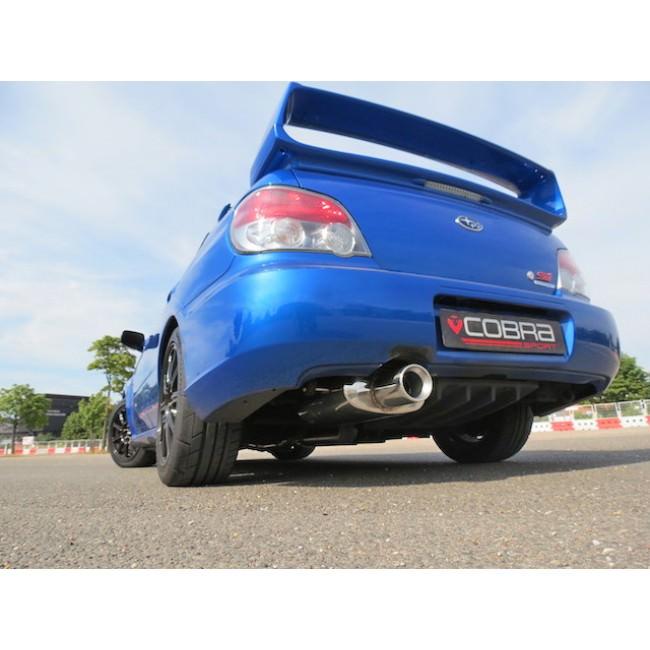 Scoobyworld Cobra 3 Quot Track Day Catback Exhaust Subaru