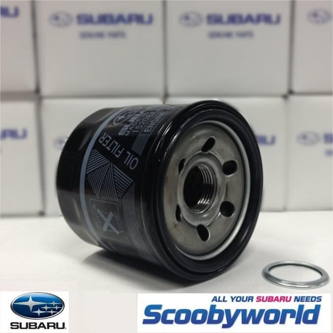 Scoobyworld- Genuine Subaru Black Oil Filter - Subaru Impreza ...