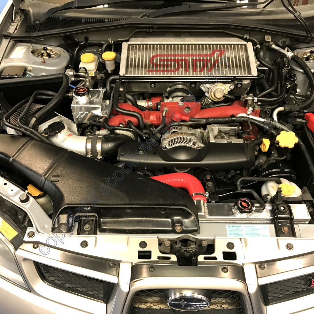 WRX /& STI MISHIMOTO Aluminum Performance Radiator 2001-2007 Subaru IMPREZA