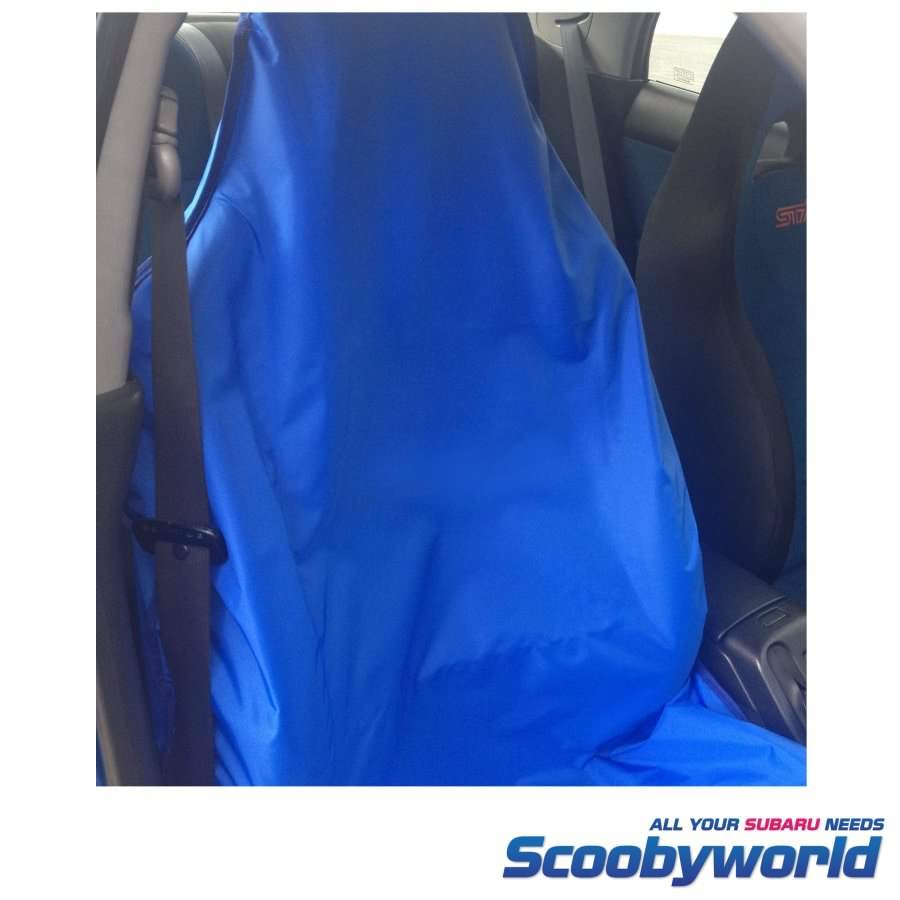 Plain Blue Seat Cover For All Impreza Forester Legacy Models