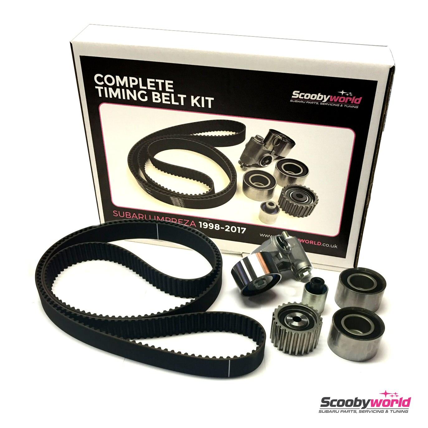Servicing Parts Subaru Wrx Sti Performance Scoobyworld Timing Belt For Legacy Impreza Complete Cambelt Kit 1998 2012
