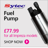 Buy Subaru fuel pump from Scoobyworld